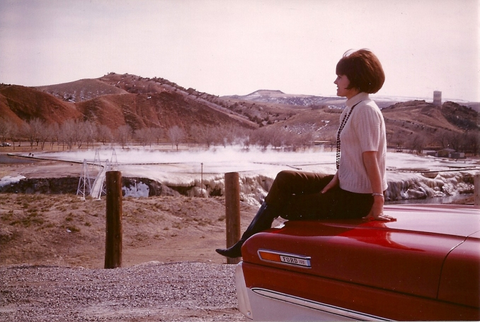 Patsy at Thermopolis 1969